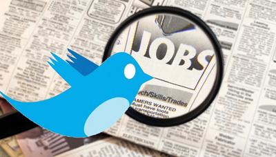Twittra dig till ett jobb